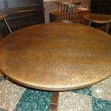 『【飛騨・高山の家具】 飛騨産業のプロヴィンシャルの1400丸のダイニングテーブルは内食にベストアイテム』の画像