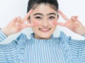 【朗報】テレビでよく見る眉毛女、剃ったらめちゃくちゃ美人だったwywwywywywywywy