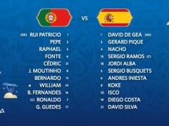 ロシアW杯・1次リーグ「ポルトガル vs スペイン」!【 スタメン&フォーメーション 】3:00~