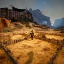 砂漠地帯での魔力が込められたダウベニア・オーレア栽培