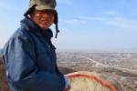 彼のコードネームは『JM3GVH』。交野山で交信してる!