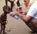 「黒魔術師だから」と家族に捨てられた2歳の子供 その写真に世界が衝撃(※画像あり)