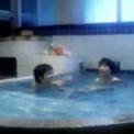 加藤香子  「まんだら屋の良太」の入浴シーンでヌード披露