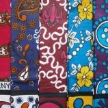 『アフリカンテキスタイルの彩り、ザンジバルの色。』の画像