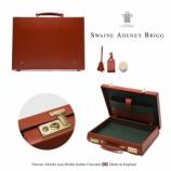 『入荷 | Swaine & Adeney Brigg ナローアタッシュケース【Chestnut】』の画像