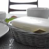 『ダイソーのPPバスケット! 食卓や冷蔵庫がおしゃれに!!』の画像