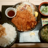 『松のやでロースかつ&おろしロースかつ定食を食べてきた!目の前のおじいさんが面白い食べ方をしてた!【株主優待】』の画像