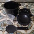 ちびくろちゃんで玄米を炊く方法 米1:水2で超簡単!玄米炊き方レシピ