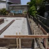 『続! 週末住宅建築日記 その6 基礎工事パンダも緊急参戦です。』の画像