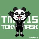 東京マスク団115 パンダの着ぐるみ