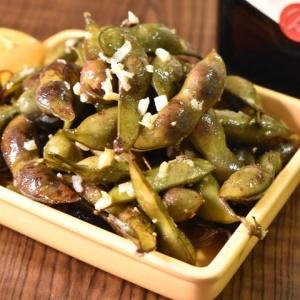 どんどん食べちゃう♪黒豆のペペロンチーノ風