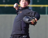 阪神浜地「順調」今年初ブルペンで捕手座らせ50球