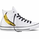 『Andy Warhol x Converse Chuck Taylor All Star』の画像