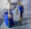 犬「わんわん遊んで!」 女性「うっとうしいな」 → 犬をゴミ箱にポイ