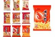 【祝報】カッ○えびせんにソックリな韓国のお菓子「セウカン」が75億袋販売突破