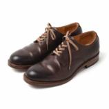 『[Today's Shoes♂] MOTO #2100 CORDVAN Plain toe Derby』の画像