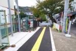 イエローあざやか!河内磐船駅横に遊歩道が新しくできたみたい〜ここ数ヶ月何かと変化のある場所です〜