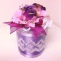 ノスタルジー紫の綿棒ケース
