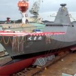 【動画】海上自衛隊公式、最新鋭のステルス護衛艦「くまの」命名式・進水式