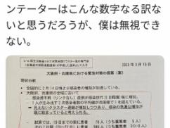 【新型コロナ】 日本政府「大阪兵庫はもうダメっぽい」
