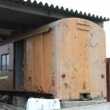 『放置貨車 西武鉄道ワフ1形ワフ2』の画像