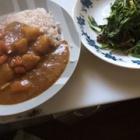『朝カレーと夕食。宮本むなしと武蔵。』の画像