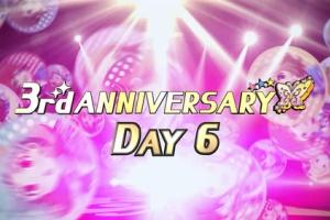 【ミリシタ】3rd ANNIVERSARY DAY6は可憐、千早、奈緒、紗代子!
