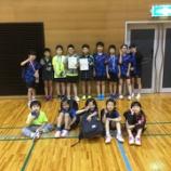 『宮城県ホープス団体卓球選手権に出ました』の画像