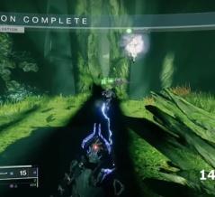 Destiny2: 影の砦のレイド「救済の庭園」のタイムアタック14分1秒の動画を解説 2つ目の隠し宝箱のエリアへ行くグリッチ
