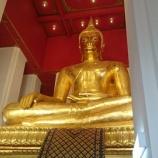 『アユタヤ遺跡?白い礼拝堂!ウィハーン・プラモンコンボピット』の画像