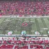 『【海外】スポンジ・ボブ! 2019年オハイオ州立大学『ハーフタイムショー』フルショー動画です!』の画像