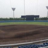 『野球場の音響設備 保守点検』の画像