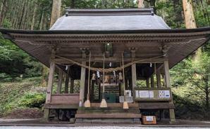 阿蘇の上色見熊野座神社へGO!