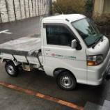 『がんばる軽トラ。よく働く軽トラックです。』の画像