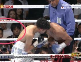 NMB木下春奈が不倫相手と堂々とボクシング観戦してるのをTV中継wwwwwwwwwwwwwwwww