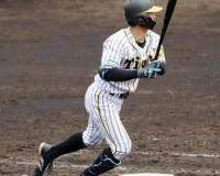 阪神板山2軍戦で3打点「良いヒット」熊谷は2安打