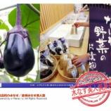 『曽呂利の水なす(7)/泉州水なす美人塾』の画像