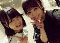 矢吹奈子ちゃん、同い年の欅坂46 平手友梨奈ちゃんとツーショットを撮る!
