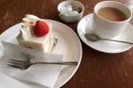 ウグイスヤの『カフェ』で、まったりどうぞ~ケーキセットがおススメです~