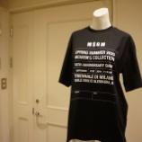 『MSGM(エムエスジーエム)10th Anniversary T-shirt』の画像