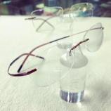 『Silhouette Eyewearの超軽量リムレスフレーム』の画像