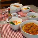 『今日の夕飯は、アメリカで定番のミートボールパスタ! 市販のミートボールで手軽につくれる!!』の画像
