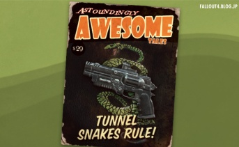 【Creation Club】Tunnel Snakes Rule!