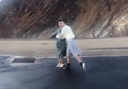 【動画】強風にも負けない清宮レイ&筒井あやめwwwww