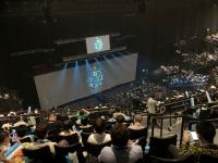 【日向坂46】東京公演ガーデンシアター5階からの見え方がこちら。