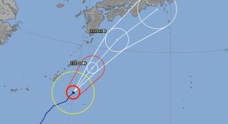 【悲報】台風20号さん、祝日となった火曜日に日本へ最接近