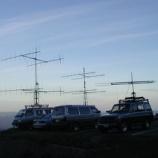 『2001年 7月27~29日 144MHz430MHz等全国伝搬実験:岩木町・岩木山8合目』の画像