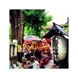 『神社のお祭り』の画像