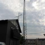 『2016年 7月 2日 アンテナ工事:弘前市・三和』の画像