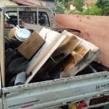 『屋上水タンク解体運搬~』の画像